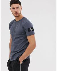 Hype Camiseta insignia - Azul