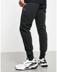 PUMA Small Logo Sweatpants - Black