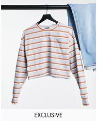 Reclaimed (vintage) Camiseta corta a - Multicolor