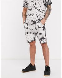 Native Youth Two-piece Oversized Short - Black