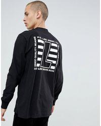 Lee Jeans High Neck T-shirt Black