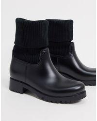 ASOS Черные Ботинки - Черный