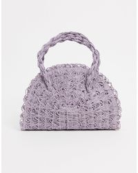 TOPSHOP Сумка Лавандового Цвета С Короткими Ручками -фиолетовый - Пурпурный