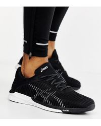 Asics - Fuzex Rush Adapt Trainers In Black - Lyst