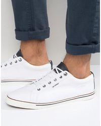 Ben Sherman Zapatillas de deporte bajas Teni - Blanco
