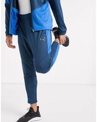 PUMA Jogger colour block - Bleu