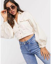 Skylar Rose Relaxed Utility Shirt-neutral - Natural