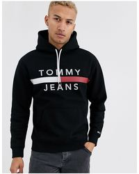 Tommy Hilfiger - Reflective Flag Logo Hoodie - Lyst