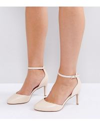 ASOS - Asos Swallow Wide Fit Heels - Lyst