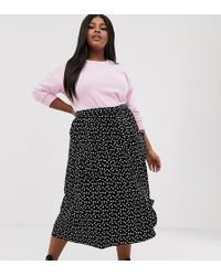 best place good quality new lower prices ASOS Synthetic Curve Pencil Skirt With Pockets in Rust ...