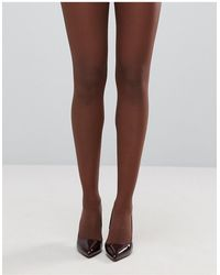 ASOS 15 Denier Tights - Brown