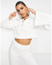 PUMA Icons 2.0 Fashion Hoodie - White