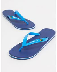 Ipanema Classic Brazil Flip Flops - Blue