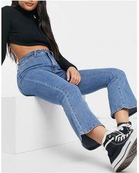 Object Diju Flared Jeans - Blue