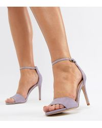 9aaa7259c40 ALDO - Wide Fit Fiolla Barely There Sandal - Lyst