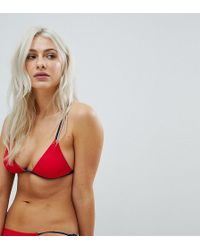 Free Society - Triangle Bikini Top - Lyst