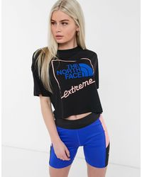 The North Face Extreme Cropped T-shirt - Black