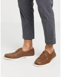 New Look - Коричневые Мокасины -коричневый - Lyst