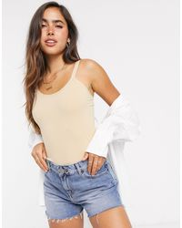 Vero Moda Strappy Body - Natural