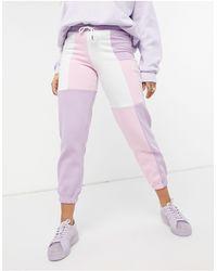 Skinnydip London Colour Block joggers Co-ord - Pink