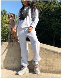 ASOS Tracksuit Oversized Sweat / Oversized jogger - Grey