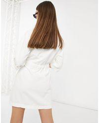 Levi's Белое Платье-рубашка В Утилитарном Стиле -белый