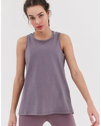 South Beach Top anudado - Gris
