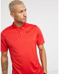 Nike Polo rossa - Rosso