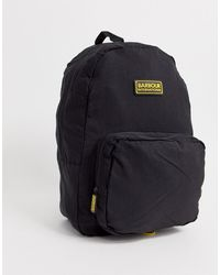 Barbour Ripstop Backpack In Black