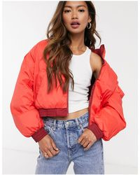 Levi's Lydia Reversible Puffer Jacket - Red