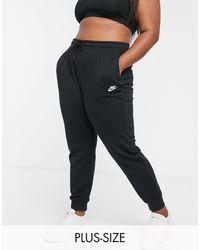 Nike Essential Fleece Jogger Pant - Black