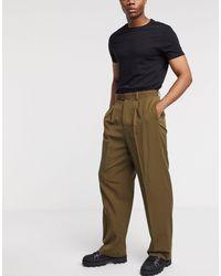 ASOS Smart High Waisted Pants - Multicolor