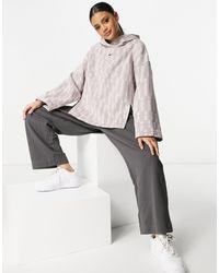 Nike Cropped Hoodie - Pink
