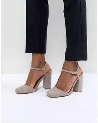 ASOS Penny - Chaussures à talons - Gris