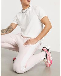 PUMA Luxe Logo Tracksuit Bottoms - Pink