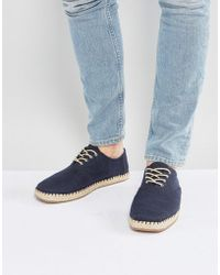 TOMS - Camino Shoes In Navy - Lyst
