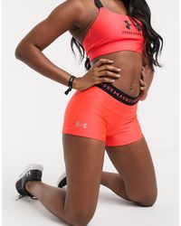 Under Armour Heatgear - Shorts da allenamento rosa