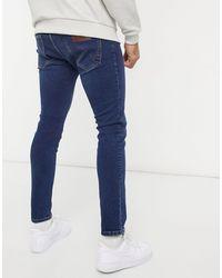 Wrangler Bryson Skinny Jeans-blue