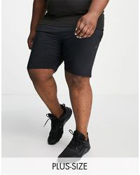 Threadbare Shorts s deportivos - Negro