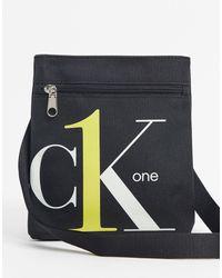 Calvin Klein - Плоская Сумка Ck1-черный - Lyst