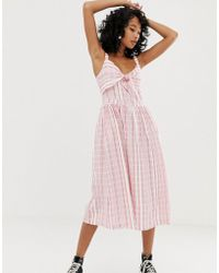 d57f46a4b80f Pepe Jeans - Simonetta Stripe Maxi Dress - Lyst