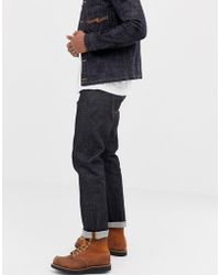 Nudie Jeans - Co Sleepy Sixten Loose Tapered Fit Jeans In Dry Deep - Lyst