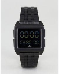 adidas - Z01 Archive Digital Bracelet Watch In Black - Lyst