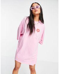 Skinnydip London Not Today T-shirt Dress - Pink