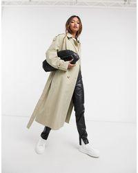 Mango Trench-coat avec ceinture - Beige - Neutre