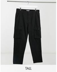 Another Influence Tall Co-ord Utility Cargo Trouser - Black