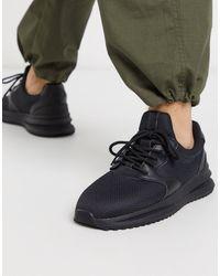 Bershka Runner Sneaker - Black