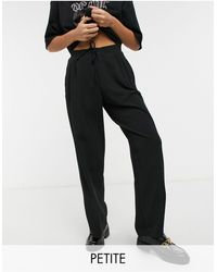 Miss Selfridge Pantalones - Negro