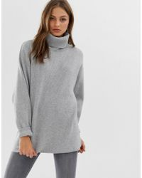 Free People Softly Structured Tunic - Gray