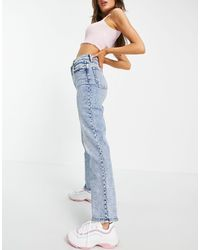 Abercrombie & Fitch 90's Straight Leg Jeans - Blue